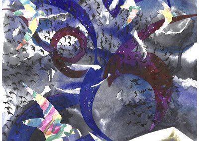 Blue Swirl Sky 2015