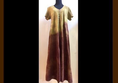Ghost Leaves Dress - Brilliant Stranger Clothing - a collaboration with Nepalese Fair Trade Artisans