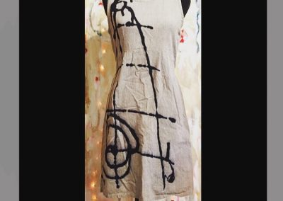 Zen Ink Dress - Brilliant Stranger Clothing - a collaboration with Nepalese Fair Trade Artisans