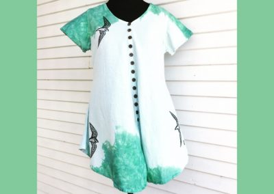 Free Bird Tunic - Brilliant Stranger Clothing - a collaboration with Nepalese Fair Trade Artisans