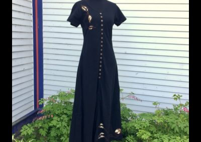 Night Vines Dress - Brilliant Stranger Clothing - a collaboration with Nepalese Fair Trade Artisans