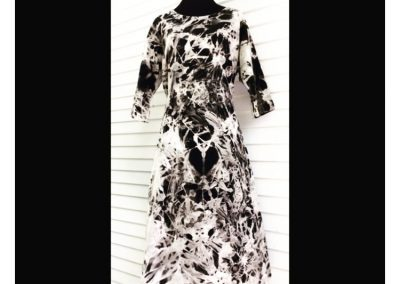 Marble Dress - Brilliant Stranger Clothing - a collaboration with Nepalese Fair Trade Artisans