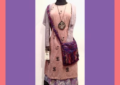 Outfit of Brilliant Stranger Clothing - a collaboration with Nepalese Fair Trade Artisans