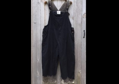Black Dip Bibs - Brilliant Stranger Clothing - a collaboration with Nepalese Fair Trade Artisans