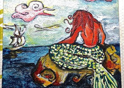 Mermaid Miniature Painting 2014