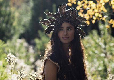 Headdress, inspired by Nature and Indigenous Peoples of the World