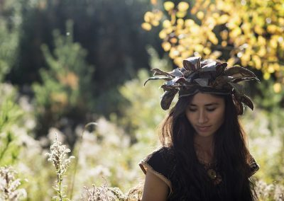 Ancestor Headdress - Bloom Photography