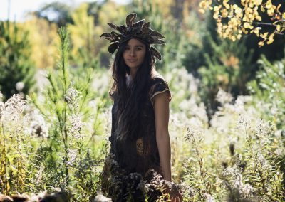 Ancestor Dress and Headdress Bloom Photography