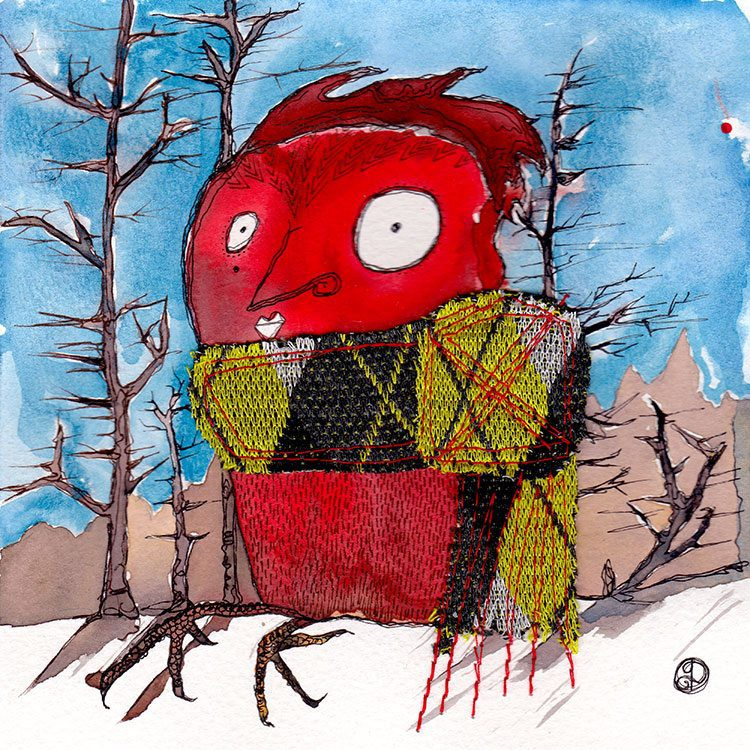 jOtbOts Ruby Owl