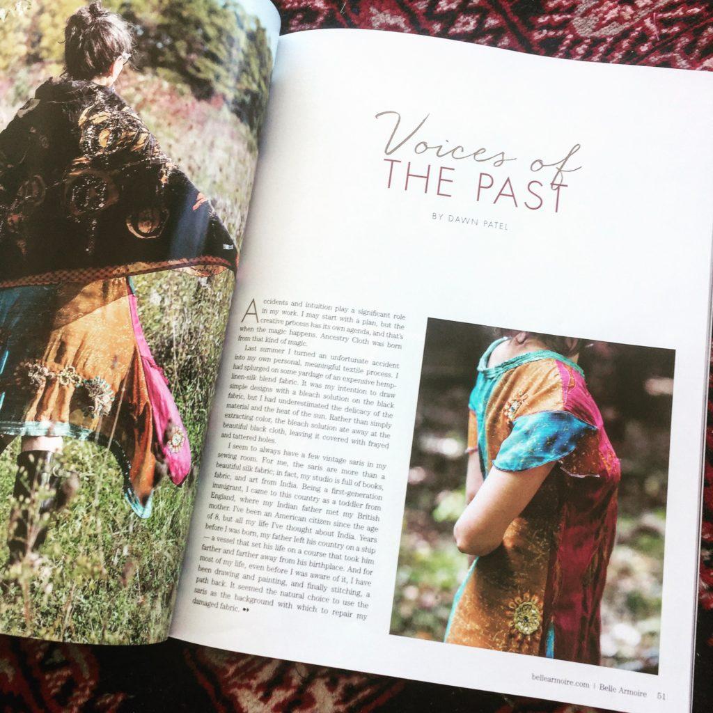 Brilliant Stranger Sundresses featured in Belle Armoire Magazine